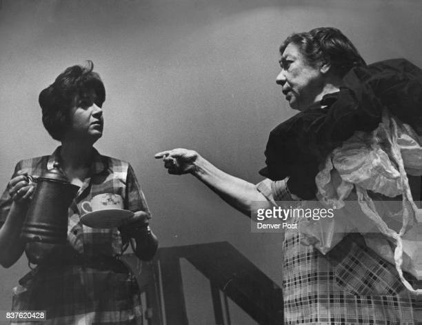 Friendly Advice from a Neighbor Lola whose husband is an alcoholic gets some advice from Mrs Coffman a neighbor in this scene from 'Come Back Little...