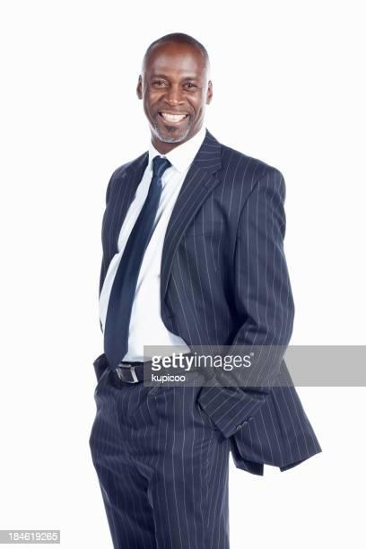 Friendly business man