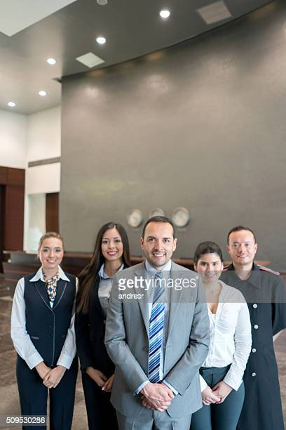 Friendly hotel staff
