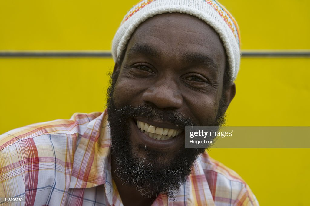 Friendly Jamaican man.
