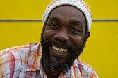 Friendly Jamaican man.
