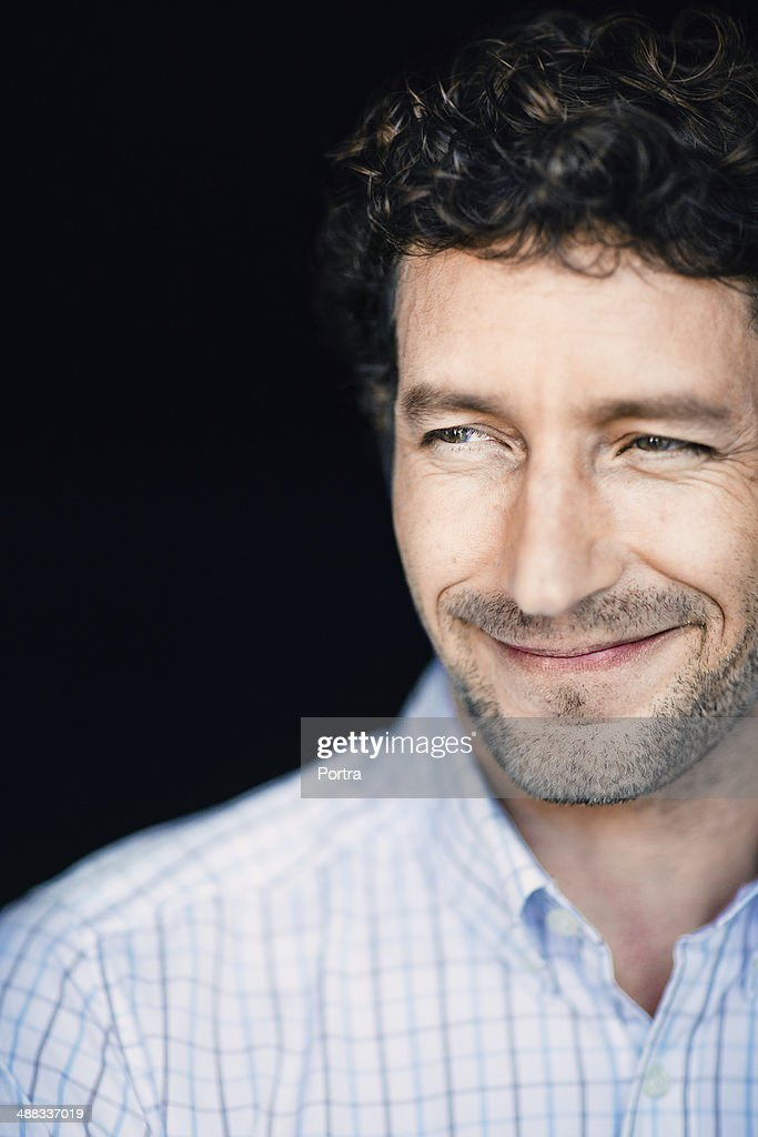 Friendly man. : Stock Photo