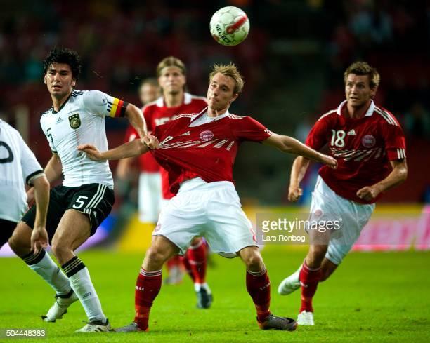 Friendly Match Christian Eriksen Danmark / Denmark Mads Junker Danmark / Denmark Serdar Tasci Tyskland Germany © Lars Rønbøg / Frontzonesport