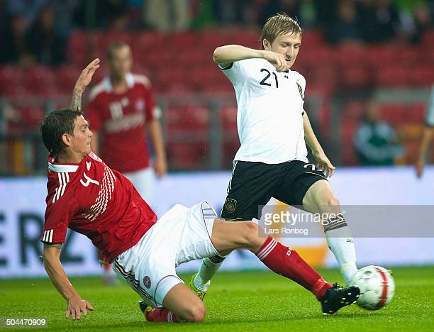 Friendly Match Marko Marin Tyskland Germany Daniel Agger Danmark / Denmark © Lars Rønbøg / Frontzonesport