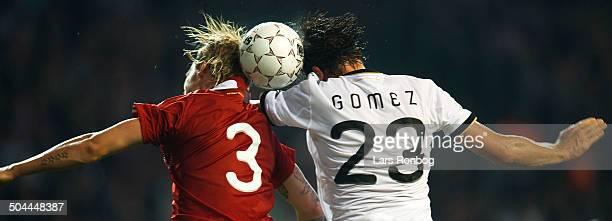 Friendly Match Simon Kjær Danmark / Denmark Mario Gomez Tyskland Germany © Lars Rønbøg / Frontzonesport
