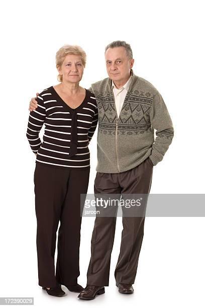 friendly mature couple