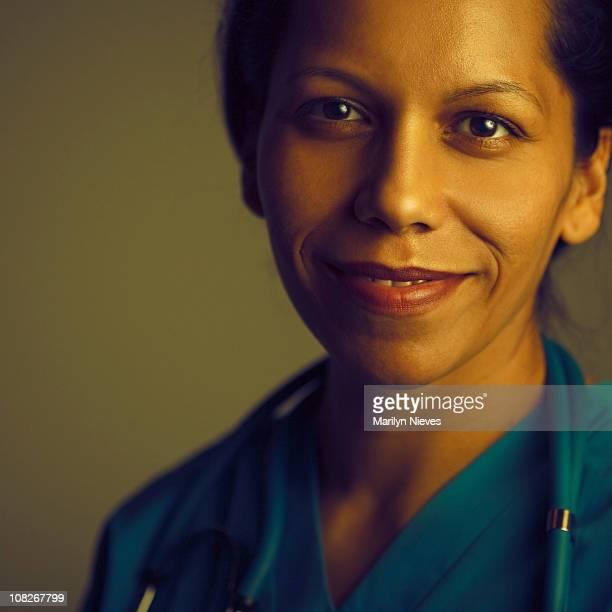 friendly medical staff