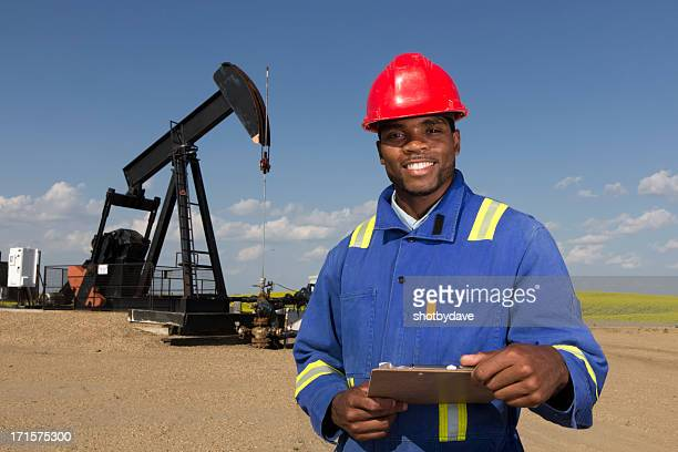 Friendly Oil Worker