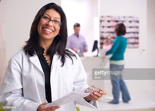 friendly pharmacist
