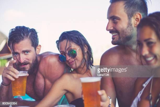 Amis et de la bière