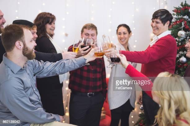LGBT の友人や仲間のパーティーで