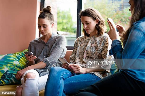 Friends and modern technology
