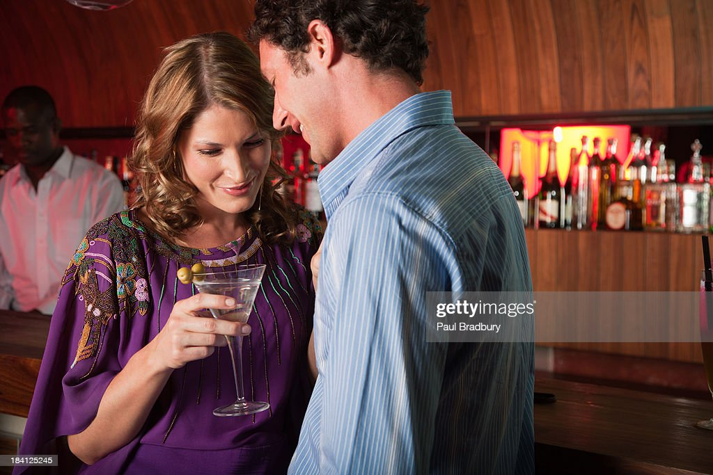 Friends at a club : Stock Photo