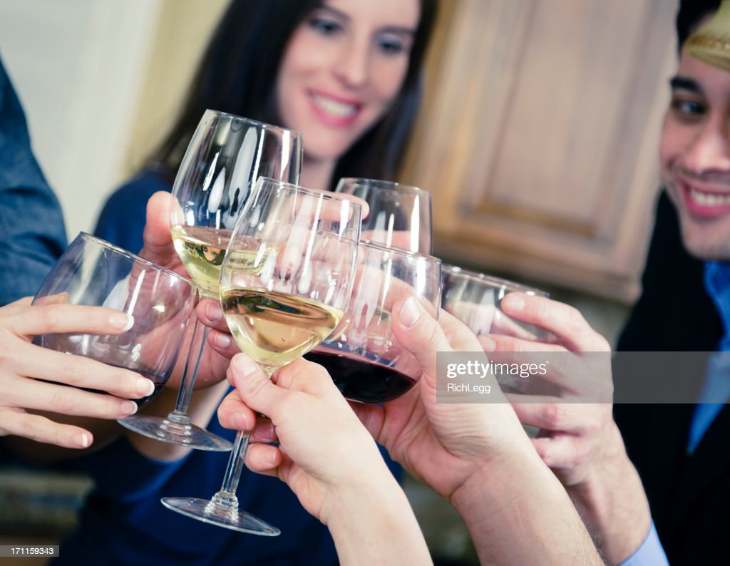 Friends at a Party : Stock Photo