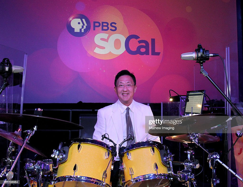 JT & Friends band leader and Co-Founder of Kingston Technologies, John Tu attends the PBS SoCaL 2013 'A Lifetime of Learning' Gala at the Atlantic Aviation Hangar at John Wayne Airport on April 27, 2013 in Santa Ana, California.