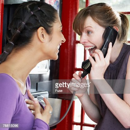 Image result for friends calling on phone
