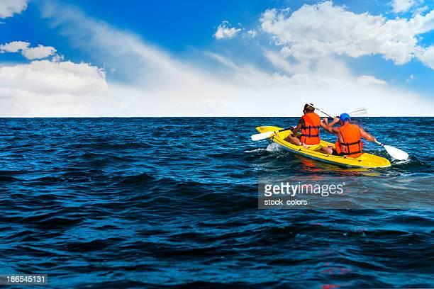 friends canoe trip