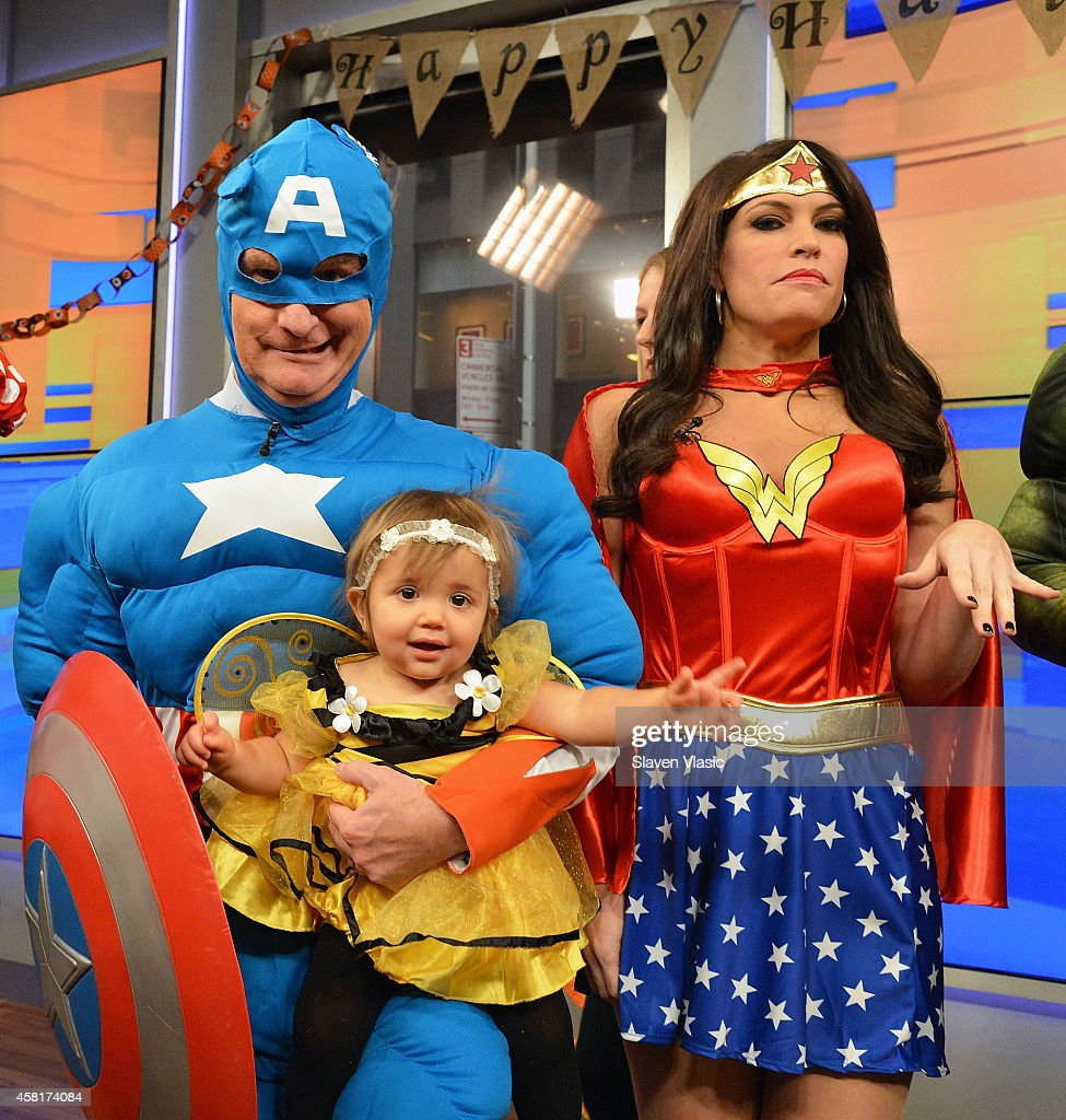 halloween celebration fox friends co hosts steve doocy as captain america and guest attend - What Is Halloween A Celebration Of