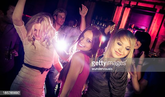 Friends Dancing At A Party