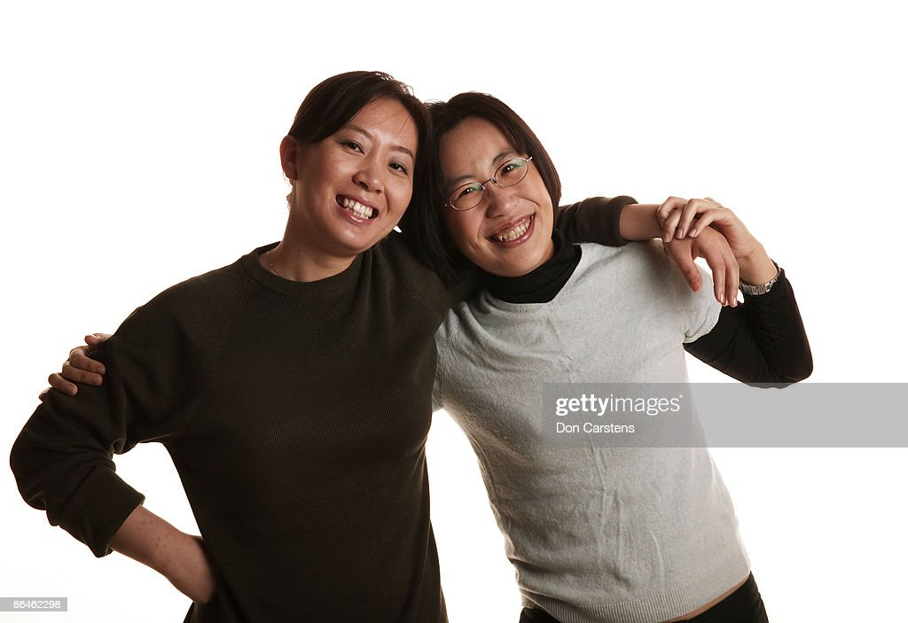 Friends embracing : Stock Photo