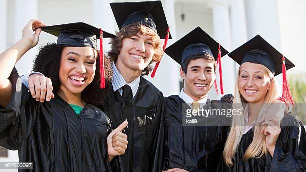 卒業ご友人と