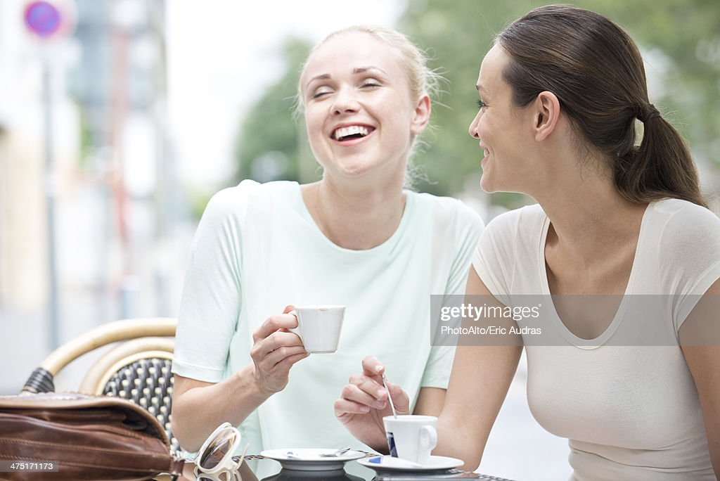 Friends having laugh together : Stock Photo