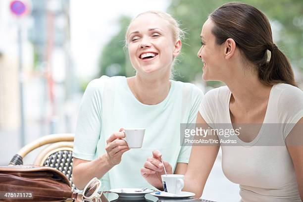 Friends having laugh together