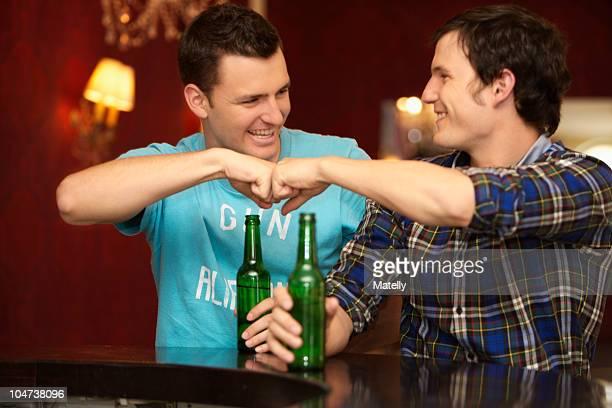 Friends in a bar / restaurant