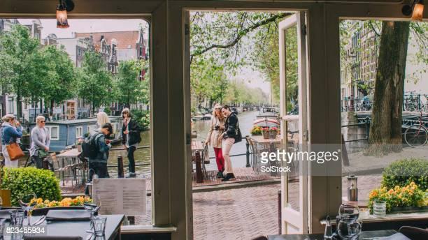 Vrienden In Amsterdam