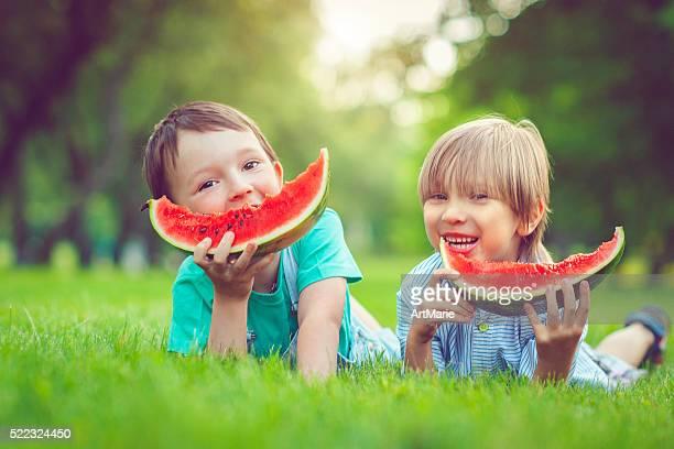Amis en été