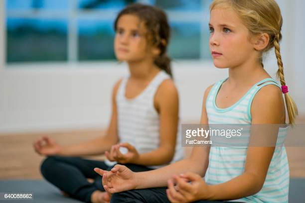 Friends Learning to Meditate Together