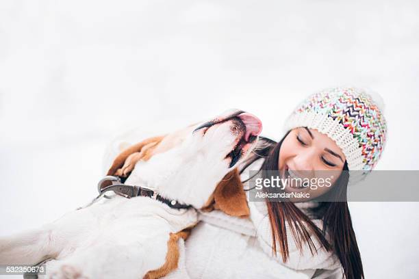 Amigos na Neve