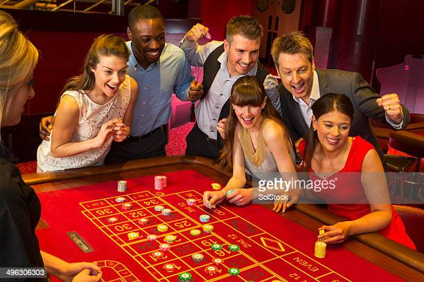 Friends Playing Roulette