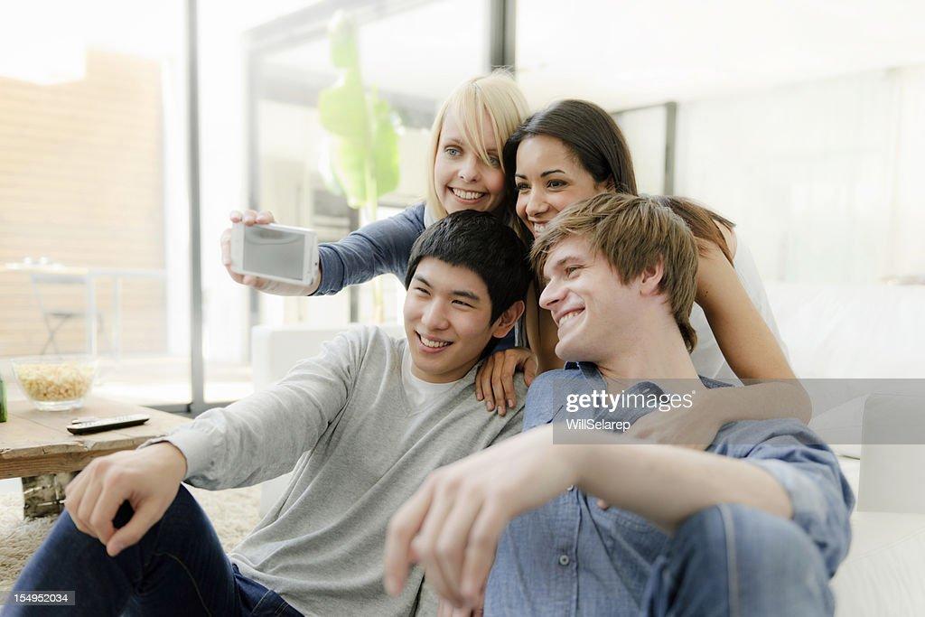 Friends portrait : Stock Photo