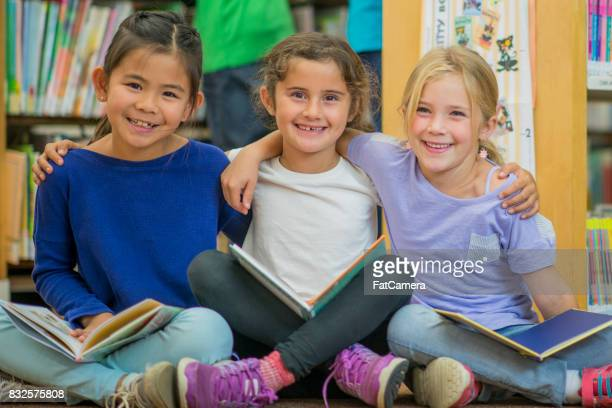 Friends Reading Together