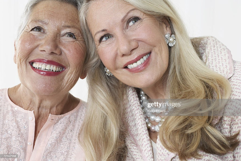 Friends Smiling : Stock Photo