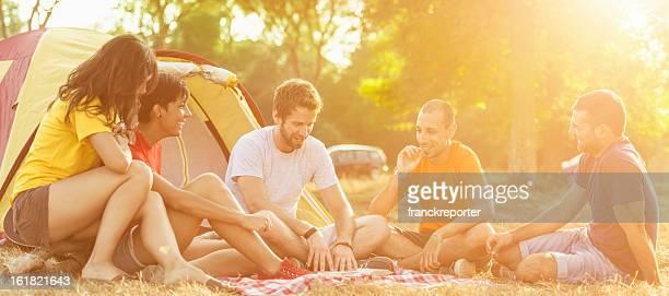 ご友人とご一緒でのキャンプ物語