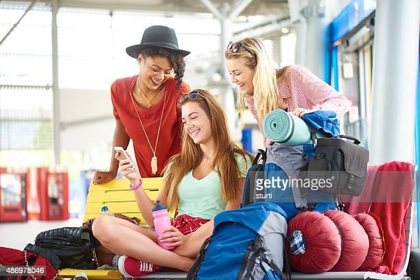 Amis en voyage