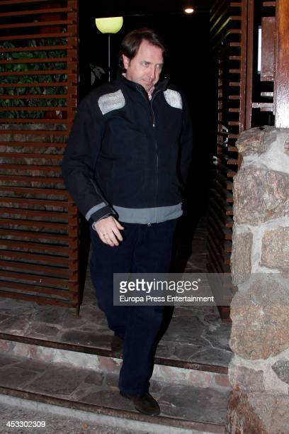 Friends visit Prince Kardam of Bulgaria on his 51st birthday on December 2 2013 in Madrid Spain The eldest son of King Simeon and Queen Margarita of...