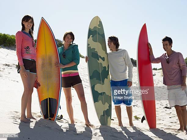 ご友人との surfboards