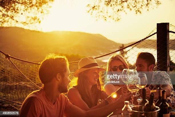 L'amitié est le vin de la vie
