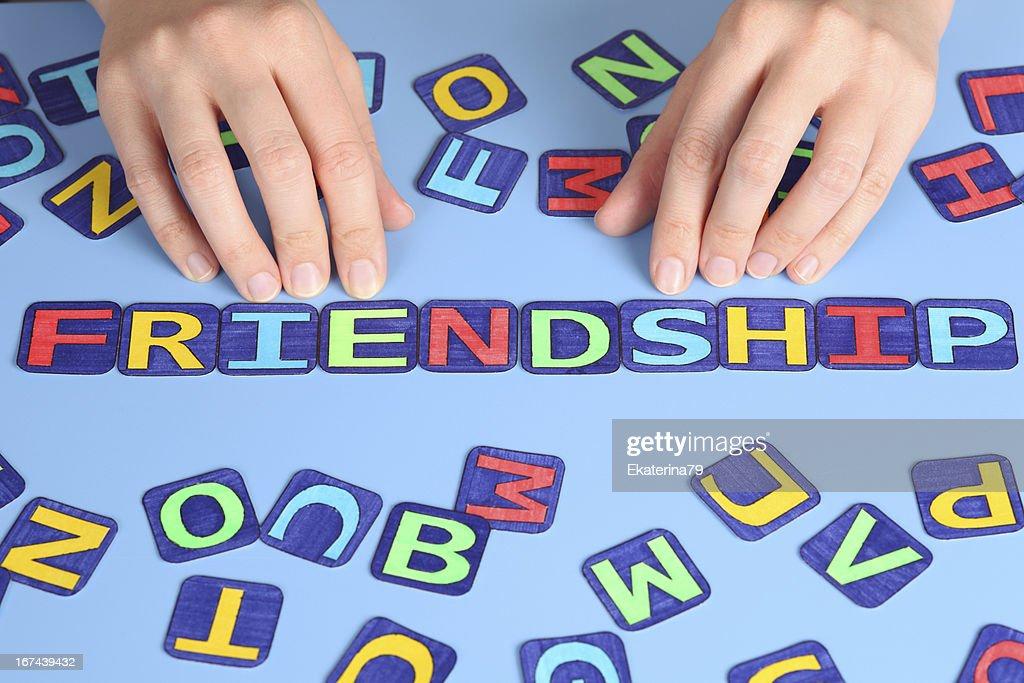 Friendship : Stock Photo