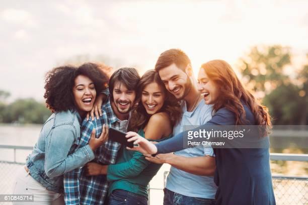 Friendship selfie