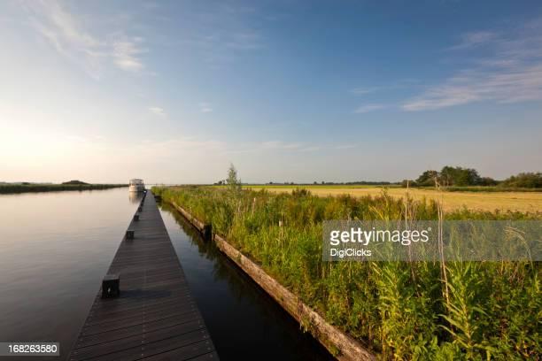 Friesland Bootfahren Feiertagen