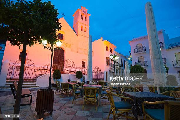 Frigiliana  evening lights