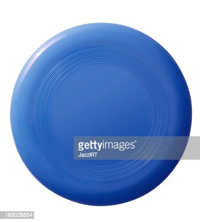 Frisbee (isolated with clipping path over white background)