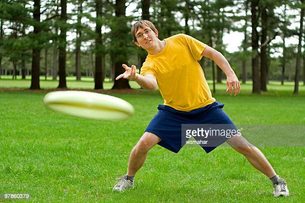 Frisbee schütteln