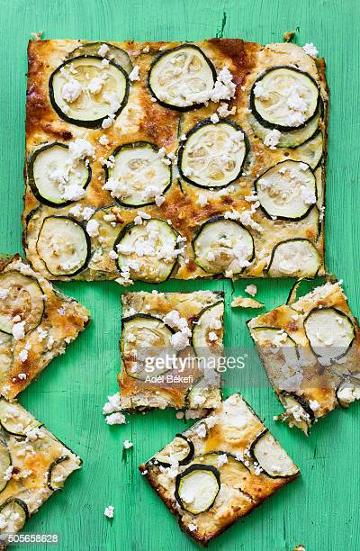 frittata with courgette