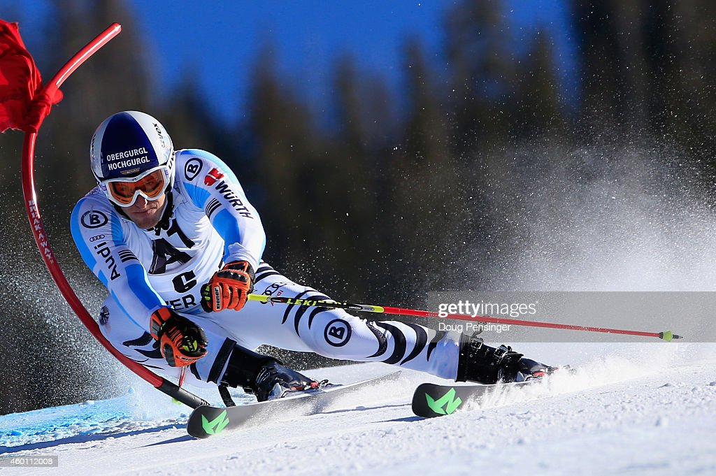 <a gi-track='captionPersonalityLinkClicked' href=/galleries/search?phrase=Fritz+Dopfer&family=editorial&specificpeople=5639346 ng-click='$event.stopPropagation()'>Fritz Dopfer</a> of Germany skis to 10th place in the Audi FIS World Cup Men's Giant Slalom Race on December 7, 2014 in Beaver Creek, Colorado.