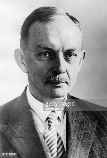 Fritz Lenz anthropologist geneticist eugenicist D *09031887 influential specialist in 'racial hygiene' Portrait 1933 Vintage property of ullstein bild